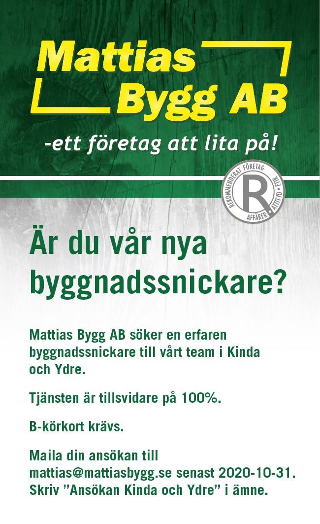 Annons Mattias Bygg
